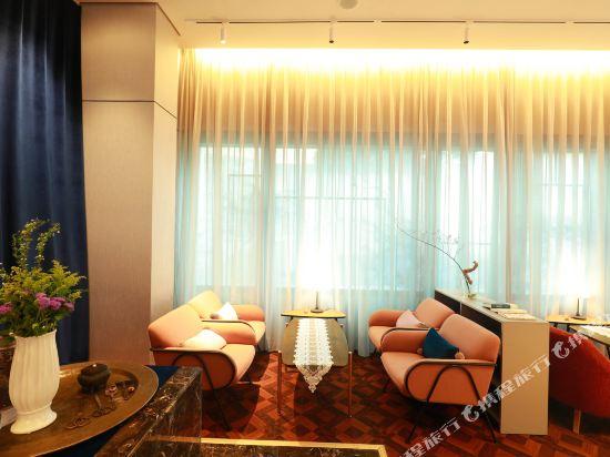 北京金融街行政公寓(Financier Executive Residence)大堂吧