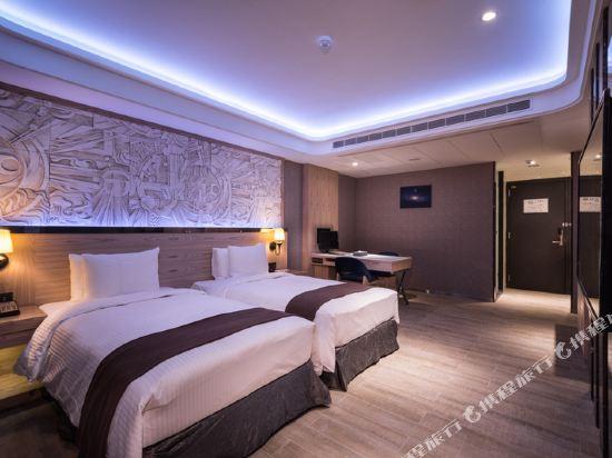 台中星動銀河旅站(Moving Star Hotel)明水客房