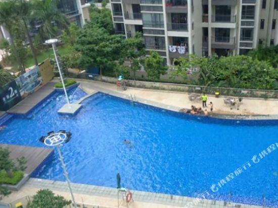 中山寰星度假公寓(Starr Holiday Apartment)室外游泳池