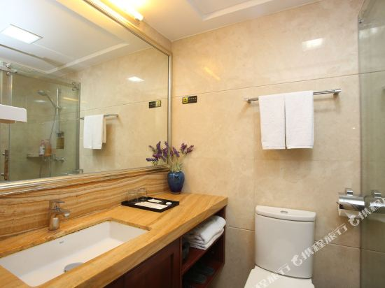 廣州臨江上品維福頓公寓(琶洲會展中心店)(Linjiang Shangpin Weifudun Apartment (Pazhou Complex))豪華江景雙床房
