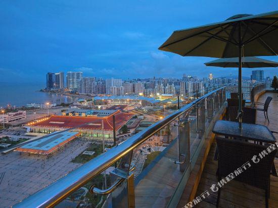 珠海來魅力假日酒店(Charming Holiday Hotel)眺望遠景