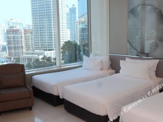 曼谷素坤逸航站 21 中心酒店(Grande Centre Point Hotel Terminal21)豪華家庭連通房