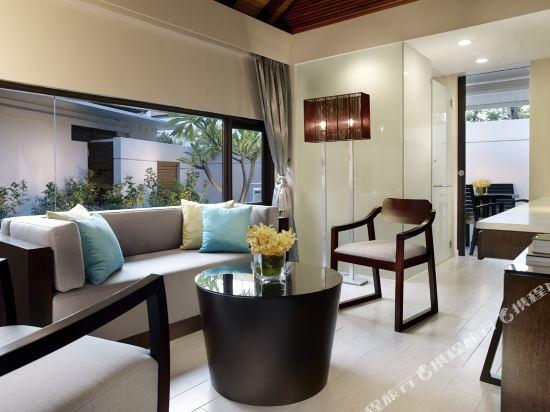 新加坡聖淘沙安曼納聖殿度假酒店(Amara Sanctuary Resort Sentosa)雙卧房式泳池別墅