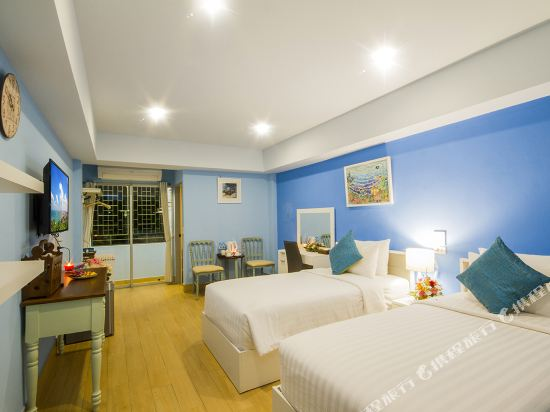 芭堤雅首驛精品酒店(E-Outfitting Boutique Hotel Pattaya)精品雙床房