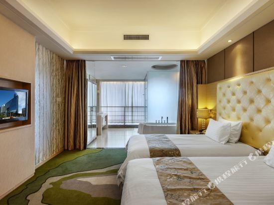 深圳中南海怡酒店豪華雙床套房