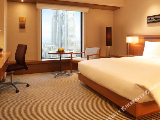東京凱悦酒店(Hyatt Regency Tokyo)景觀豪華特大床房