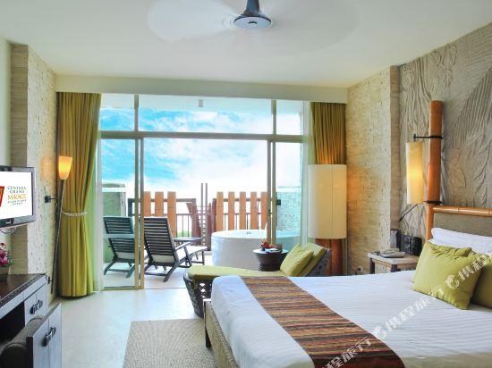 盛泰瀾幻影海灘度假村(Centara Grand Mirage Beach Resort Pattaya)Deluxe Spa Ocean Facing