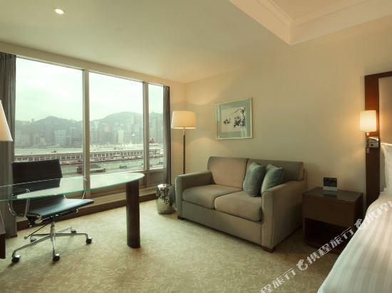 香港皇家太平洋酒店(The Royal Pacific Hotel and Towers)豪華海景客房