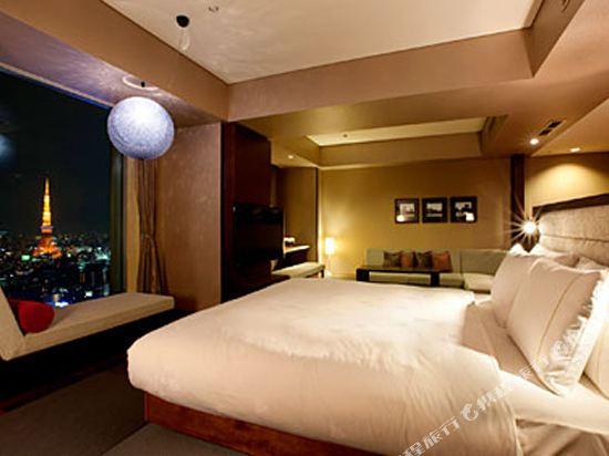 東京汐留皇家花園酒店(The Royal Park Hotel Tokyo Shiodome)日式精緻特大床套房-ILYA設計(概念樓層)