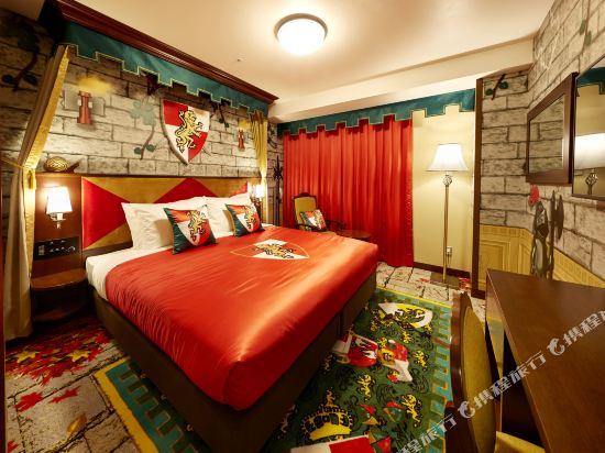 日本樂高樂園酒店(Legoland Japan Hotel)豪華城堡主題房
