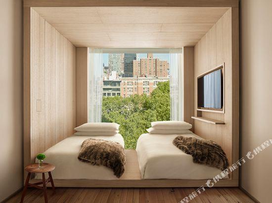 紐約共和酒店(Public New York)公園景觀雙床房