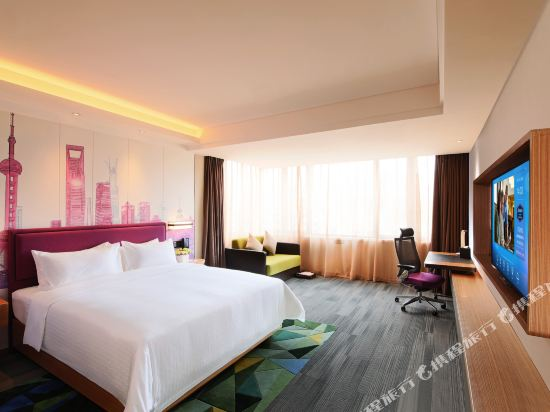 上海虹橋國家會展中心希爾頓歡朋酒店(Hampton by Hilton Shanghai Hongqiao Necc)豪華大床房