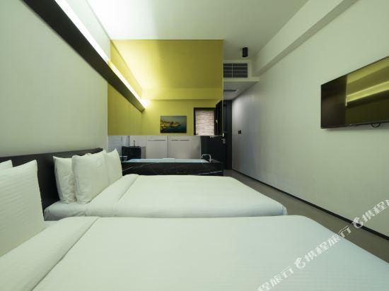 首爾明洞喜普樂吉酒店(Sotetsu Hotels The SPLAISIR Seoul Myeongdong)標準乳膠家庭雙床房