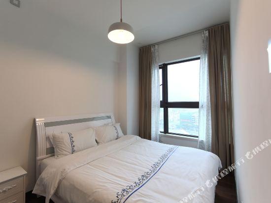 富米國際公寓(珠海華髮商都店)(Fumi Apartment Hotel (Zhuhai Huafa Mall))奢華兩房兩床套房