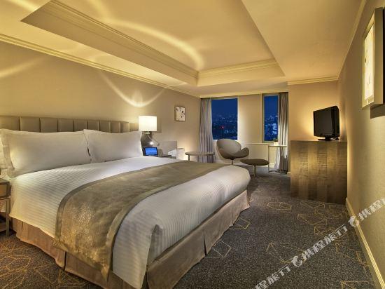 名古屋萬豪酒店(Nagoya Marriott Associa Hotel)高樓層標準大床房
