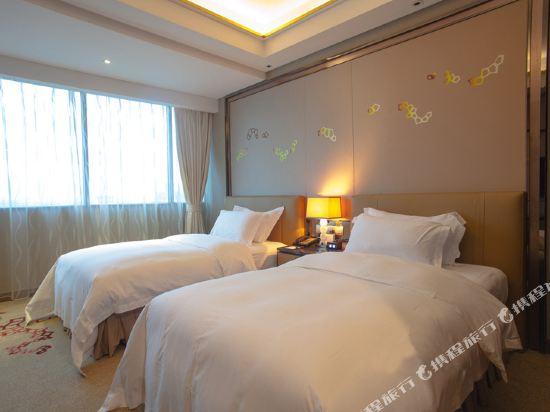 東莞富盈酒店(Cinese Hotel Dongguan)豪華雙床房