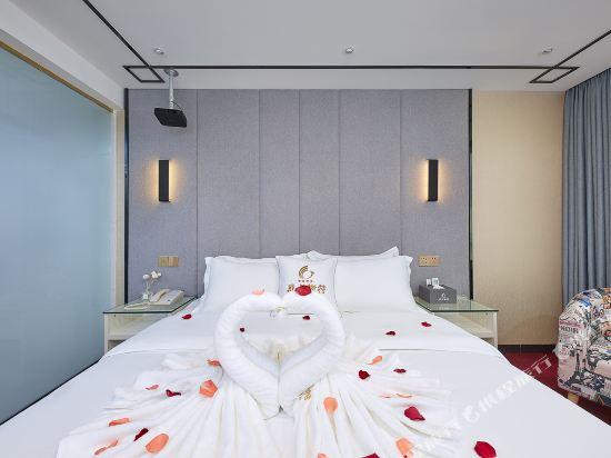 廣州威尼斯特酒店(Wei Ni Si Te Hotel)奢華商旅大床房