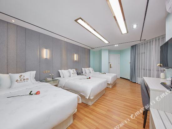 廣州威尼斯特酒店(Wei Ni Si Te Hotel)奢華商旅三床房