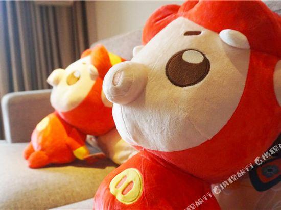 溧陽天目湖御水温泉度假酒店(Yu Shui Hot Spring Hotel)豬豬俠酷芽親子雙床房