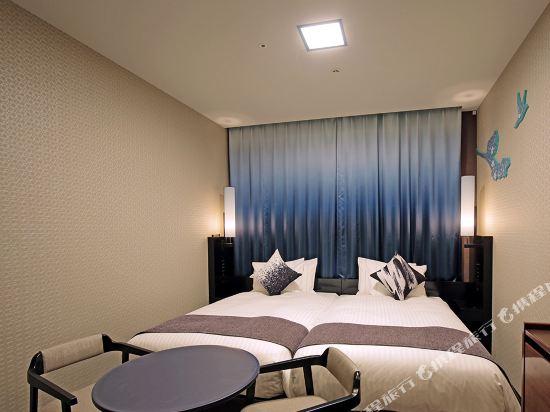 京都四條皇家花園酒店(2018年4月新開業)(The Royal Park Hotel Kyoto Shijo(New Open))標準雙床房(甄選樓層)