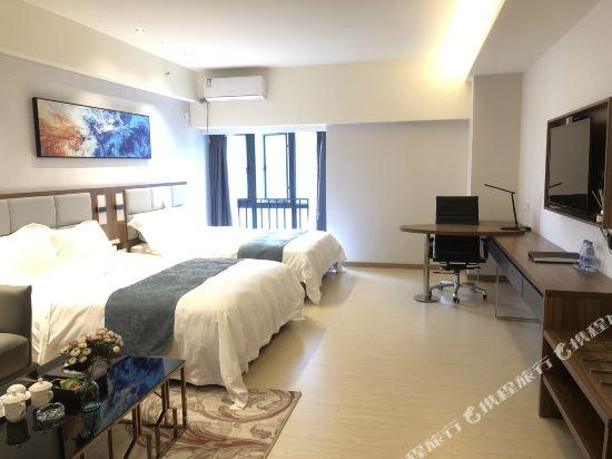 佛山雲谷酒店式公寓雲尚城景雙床房
