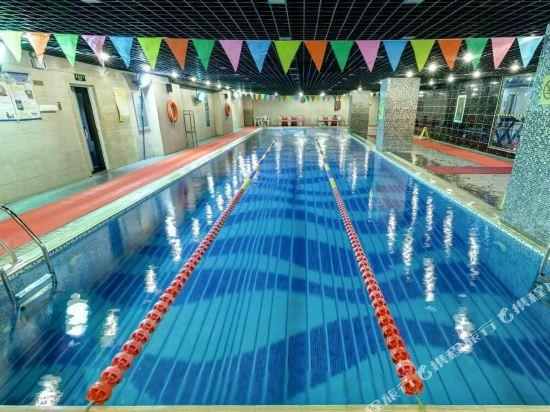 北京漁陽飯店(Yu Yang Hotel)室內游泳池