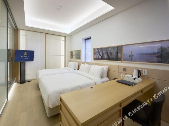 首爾明洞喜普樂吉酒店(原首爾黃金鬱金香M酒店)(Sotetsu Hotels The SPLAISIR Seoul Myeongdong)行政扁柏家庭房
