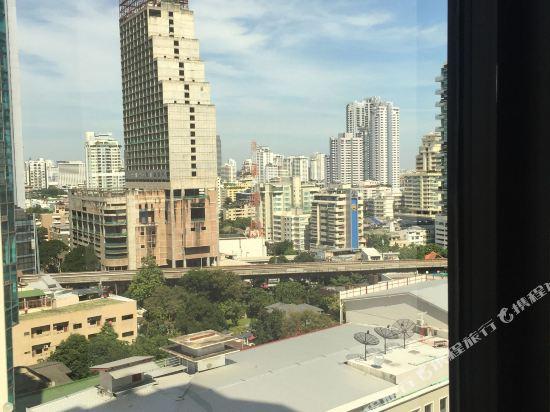 曼谷瑞博朗德酒店(Rembrandt Hotel Bangkok)眺望遠景