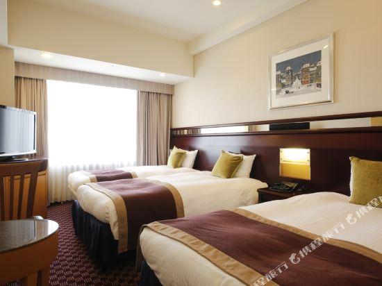 京阪環球塔酒店(Hotel Keihan Universal Tower)塔樓標準三人房