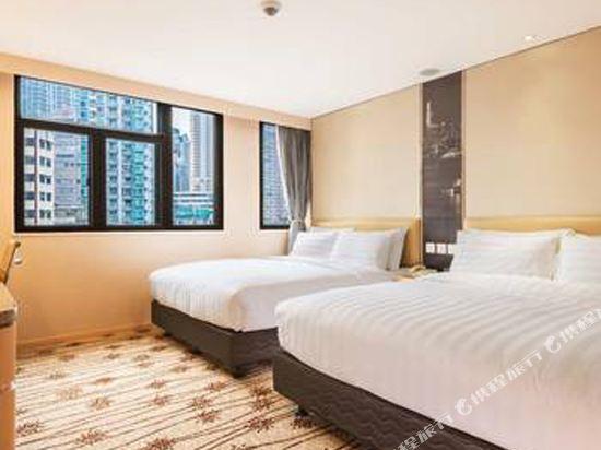 香港旺角維景酒店(Metropark Hotel Mongkok)4人房
