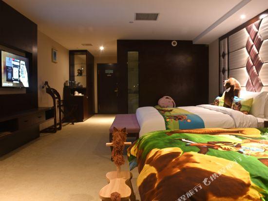 薩維爾金爵·鹿安酒店(上海國際旅遊度假區浦東機場店)(Savile Knight Lu'an Hotel (Shanghai International Tourism and Resorts Zone Pudong Airport))熊熊護林主題親子房