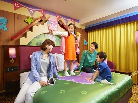 日本樂高樂園酒店(Legoland Japan Hotel)景觀朋友主題套房