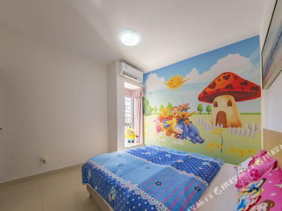 Q加·泰萊童趣主題公寓(珠海橫琴海洋王國店)(Q+ Tailai Tongqu Theme Apartment (Zhuhai Chimelong Ocean Kingdom))豪華親子四卧室大套房