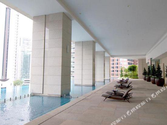 吉隆坡悅榕莊(Banyan Tree Kuala Lumpur)室外游泳池