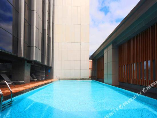 台北凱達大飯店(Caesar Metro Taipei)室外游泳池