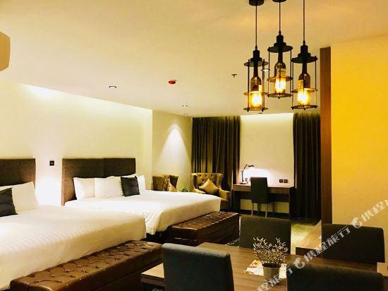 芭堤雅T酒店(T Pattaya Hotel)家庭套房