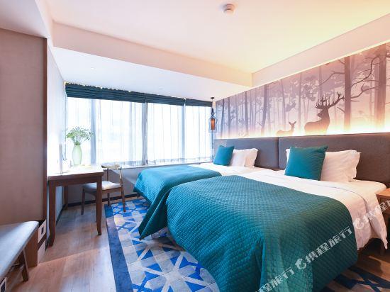 美豪麗致酒店(深圳福田會展中心店)(Mehood Lestie Hotel (Shenzhen Futian Convention and Exhibition Center))麗致豪華雙床房