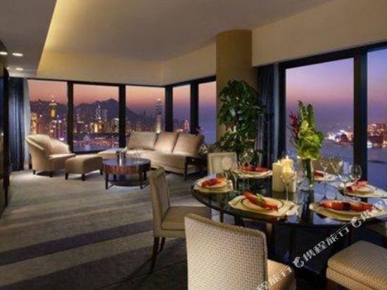 香港港島海逸君綽酒店(Harbour Grand Hong Kong)貴賓樓層尊貴海景套房