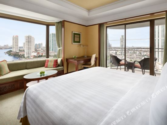 曼谷香格里拉酒店(Shangri-La Hotel Bangkok)香格里拉樓豪華陽台房