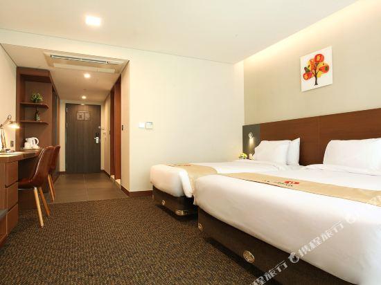 空中花園東大門金斯敦酒店(Hotel Skypark Kingstown Dongdaemun)豪華雙床房