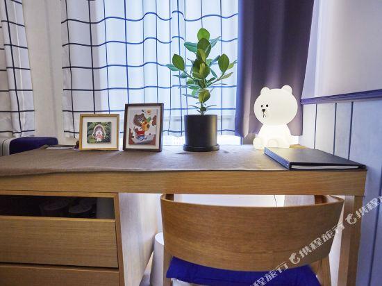 首爾明洞喜普樂吉酒店(原首爾黃金鬱金香M酒店)(Sotetsu Hotels The SPLAISIR Seoul Myeongdong)Line Friends 主題房 雙床(布朗熊&可妮兔)