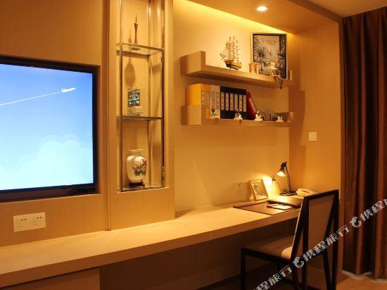 星倫國際公寓(廣州合生廣場店)(Xinglun International Apartment (Guangzhou Hopson Mall))公寓高級大床房