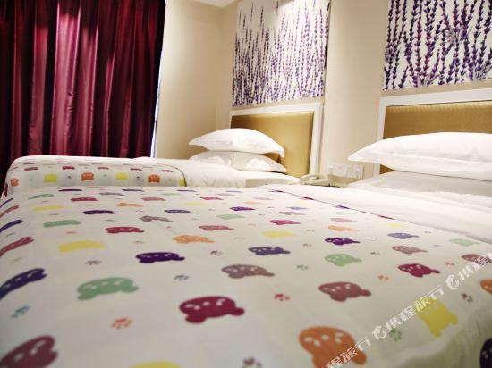 昆明花之城豪生國際大酒店(蘭花苑)(Howard Johnson Flower City Hotel Kunming (Lanhua Yuan))親子房B