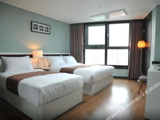 海雲台馬克酒店(Hotel the Mark Haeundae)雙床間