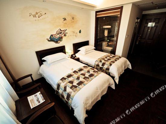 時光漫步懷舊主題酒店(北京國貿勁鬆店)(Nostalgia Hotel (Beijing Guomao Jinsong))精品標準間