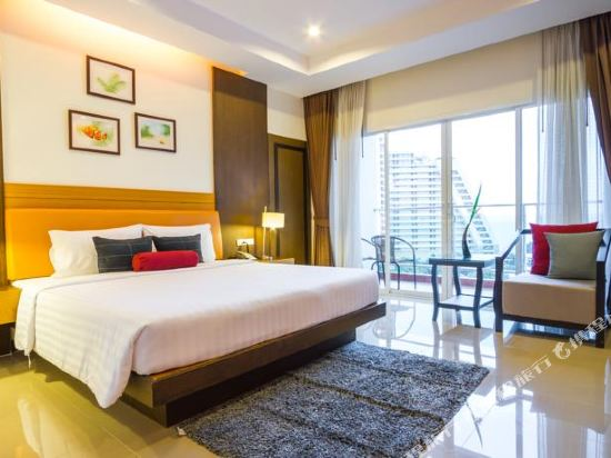 普里瑪旺加瑪酒店(Prima Wongamat Hotel)家庭房