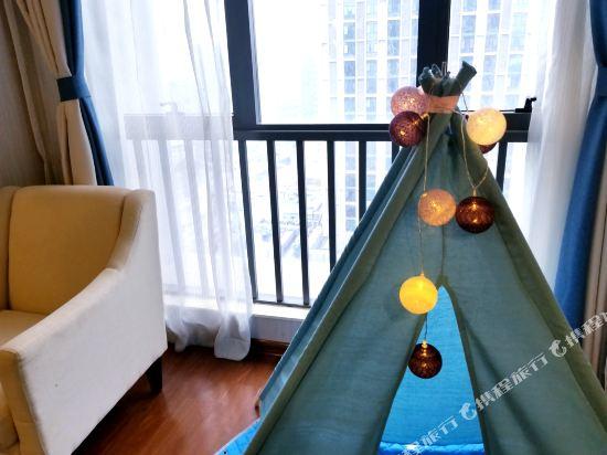 星倫萬達廣場主題公寓(廣州長隆店)(Xinlun Free Hotel International  WanDa)樂享歡動兒童親子雙床房