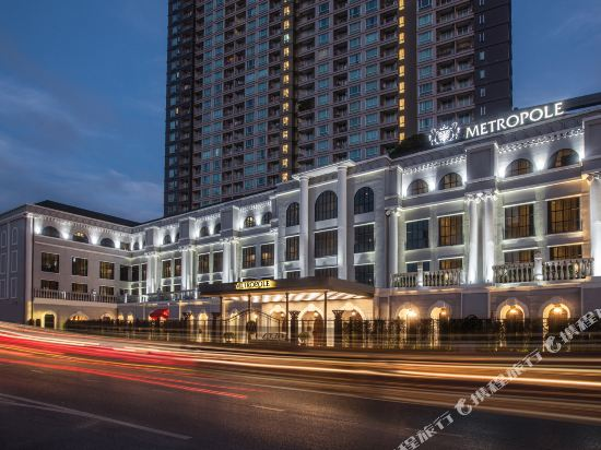 曼谷克雷斯典藏大都會酒店-雅詩閣有限公司(Metropole Bangkok the Crest Collection)外觀