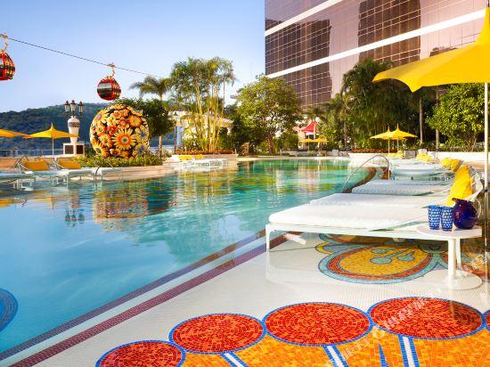 澳門永利皇宮酒店(Wynn Palace)室外游泳池