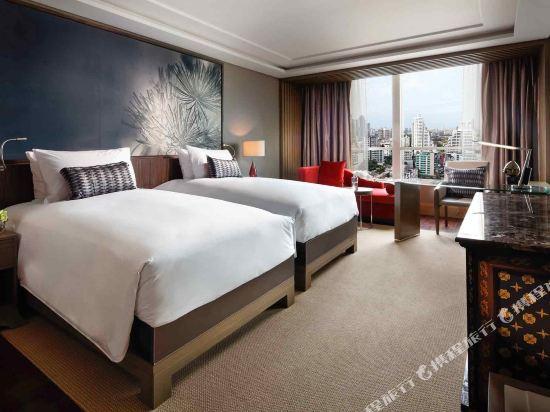 索菲特曼谷素坤逸酒店(Sofitel Bangkok Sukhumvit)園景奢華房